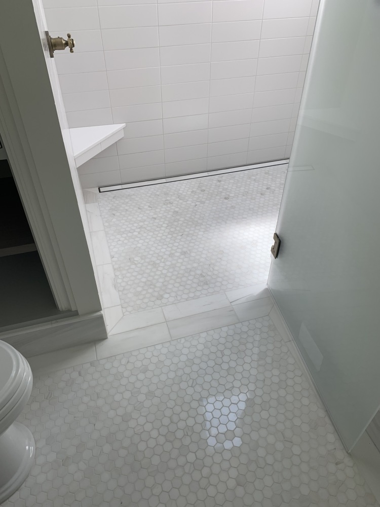 Curbless-Shower-Pan-with-Linear-Drain