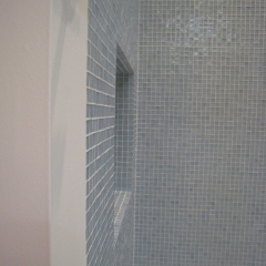 Flush Detail Glass Mosaics