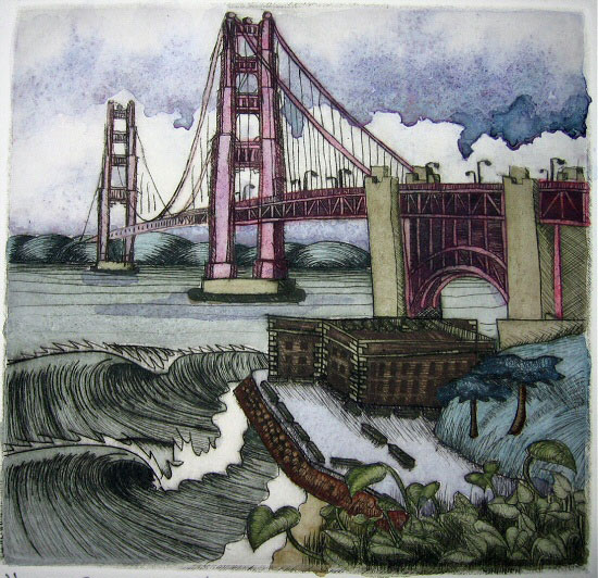 FortWatercoloredDryPoint
