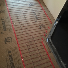 Imbeded Cable Radiant Heat