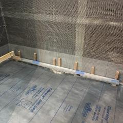 Linear-drain-alignment